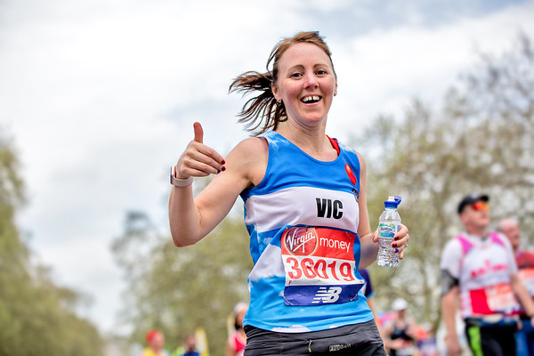 The Virgin London Marathon 2018 with The British Lung Foundation