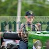 George Olsen steers his John Deere.