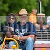 "Joe Meszaros' shirt says it all: ""Real men drive tractors."""