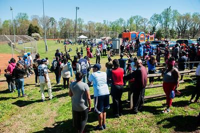 University East Little League Baseball Opening Day @ Newell Park 4-1-17 by Jon Strayhorn