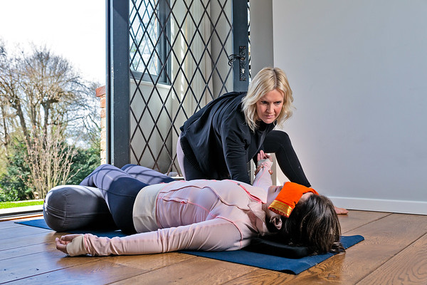Victoria Michaels:   Yoga Therapist  Business Portraits