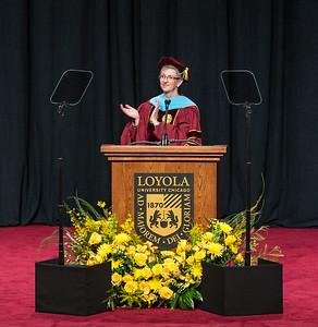 Jackie Howell Loyola Law School Graduation