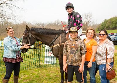 1st Race Large Ponies