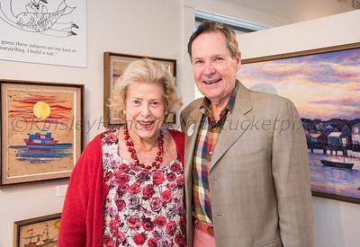 Folk Tales to Fine Art: A John Lochtefeld Retrospective, 50 years on Nantucket, Artists Association of Nantucket, Nantucket, Massachusetts 06/28/19