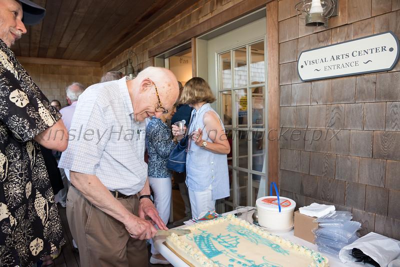 2019 Artists Association of Nantucket celebration of John