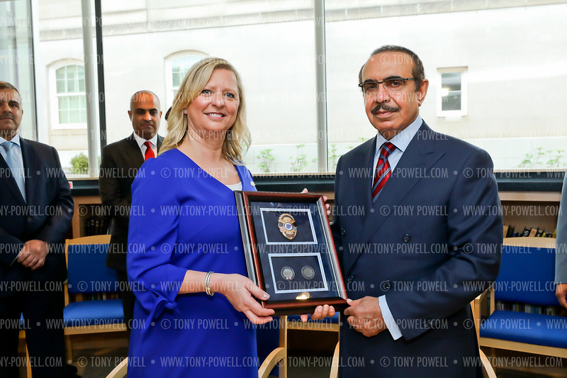 Photo © Tony Powell. 2019 Bahrain Minister of Interior Law Enforcement Museum Tour and Signing. April 10, 2019