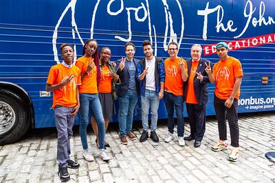 2019_09_16, Bus, City Hall, Exterior, New York, NY, Alicka Ampry-Samuel, Rick Van Dyne, Prince Royce, Brian Rothschild, Daniel Dromm