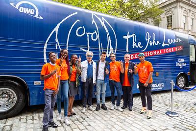 2019_09_16, Bus, City Hall, Exterior, New York, NY, Alicka Ampry-Samuel, Bob Gruen, Prince Royce, Brian Rothschild, Daniel Dromm