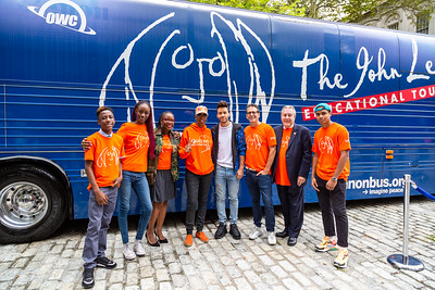 2019_09_16, Bus, City Hall, Exterior, New York, NY, Prince Royce, Brian Rothschild, Daniel Dromm, Alicka Ampry-Samuel, Erica Ford