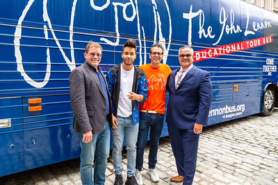 2019_09_16, Bus, City Hall, Exterior, New York, NY, Lee Whitmore, Prince Royce, Brian Rothschild, James Cotto
