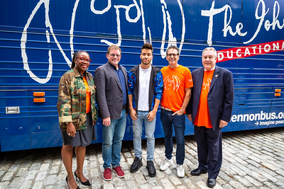 2019_09_16, Bus, City Hall, Exterior, New York, NY, Brian Rothschild, Daniel Dromm, Alicka Ampry-Samuel, Lee Whitmore, Prince Royce