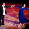 Don Knight | The Herald Bulletin<br /> Rick Sowers dances a Waltz with Diana Miller during Dancing Like the Stars at the Paramount on Saturday.