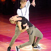 Don Knight | The Herald Bulletin<br /> Wendy Buck dances Hip Hop and Samba with Jonas Kazlauskas during Dancing Like the Stars at the Paramount on Saturday.