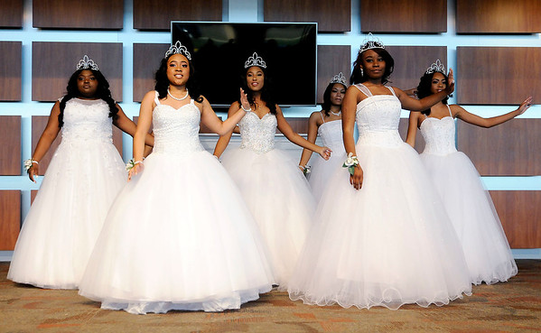 Don Knight | The Herald Bulletin<br /> The Debutante Cotillion Beautillion Militaire's Scholarship Ball at Park Place Church of God on Saturday.