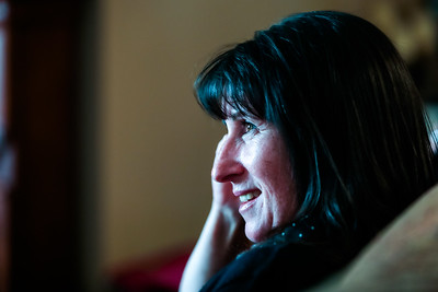 Cheryl Sheppard at Ed Murphy's Funeral