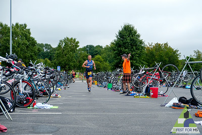 The second day of Trifest started with the Sprint distance.