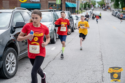 The Park Central Square in Springfield was filled with vendors and runners decorated in a forms of wizarding fun for the Wizarding Run featuring a 5k and 1 Mile Fun Run.