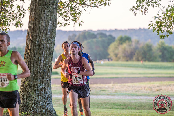The sun was shining with mild temps for the 31st Annual Chile Pepper, making for a pleasant day of cross country running starting with an Open 10k, followed by college, high school, and junior high races.