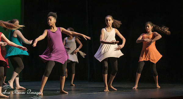 """Binford MS Dance Company, performing """"Love Is Still The Answer"""""""
