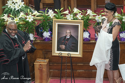 Unveiling of the Church Portrait
