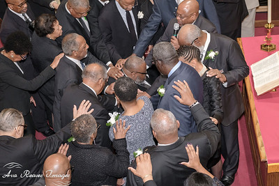 Installation and Laying of Hands