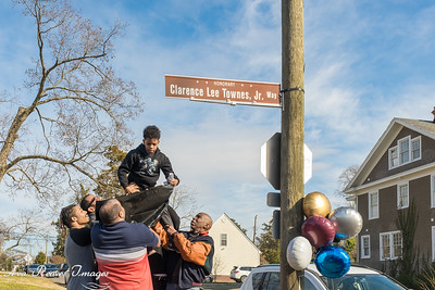 Clarence Lee Townes, Jr. Street Sign Dedication