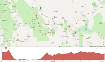 Day 3 Route and Elevation Profile
