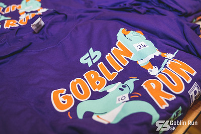 The rain held off long enough on a chilly, Saturday morning for runners, in their Halloween best, to run a 5k throughout the streets of Bentonville for Run Bentonville's Goblin 5k.