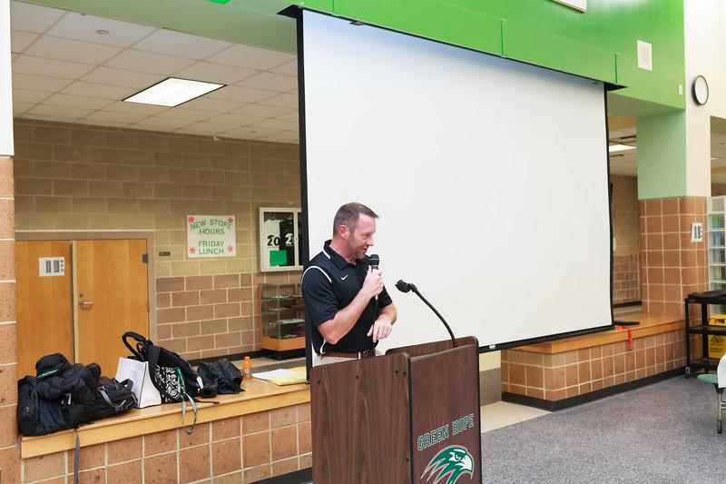 2019 Green Hope High School  Cross County Award Ceremony