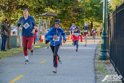 Runners came out to Fayetteville for the Hero Half Marathon put on by the Spark Foundation which featured the half marathon, 5k, 1 mile fun run, half relay, and firefighters running in full gear.