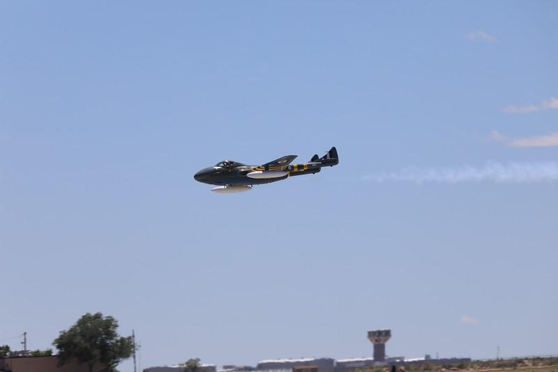 Jerry Conley DH-112 Vampire Jet