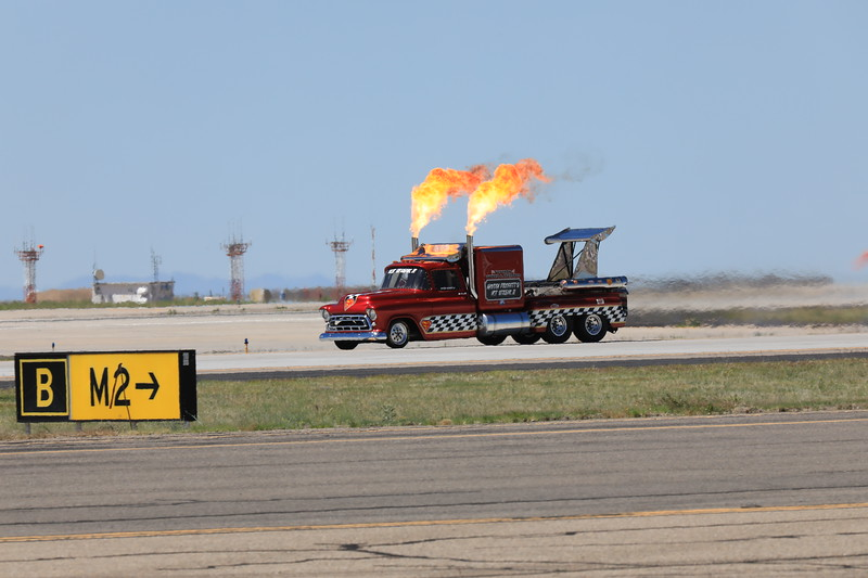Smoke and Thunder Jet Truck