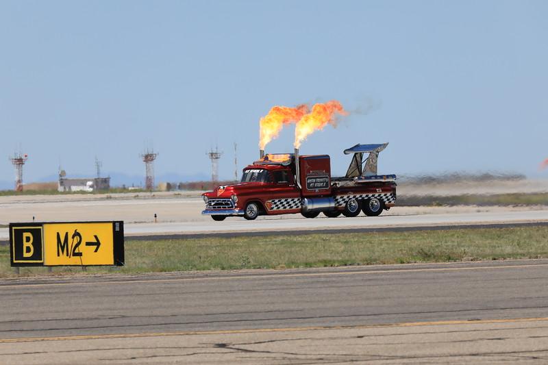 Smoke and Thunder Jet Truck
