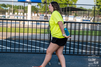 Run Bentonville once again put on an evening of fun with the Memorial Park Glow Run, a 2 mile course throughout the park with runners decked out in their best lights. This year it started at the Melvin Ford Aquatic Center which was open to participants for a post run cool down in the pool.