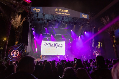 2019_01_26, Anaheim, CA, Imagine Party, NAMM, Elle King