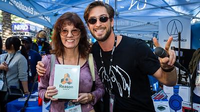 2019_01_27, Anaheim, CA, giveaway, NAMM, Steven Meloney, Reason, Propellerhead Reason
