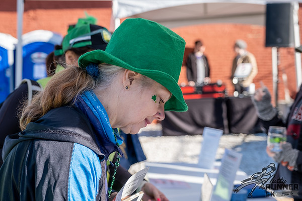The weather came through with a beautiful day for the Nutty Runner 5k beer run, put on by the Spark Foundation, which took place in Fayetteville, starting and ending at Columbus House Brewery.