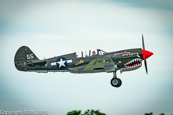 Curtiss TP-40N Warhawk