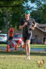 Athletes gathered early on Sunday morning to battle the heat for the Summer Roundup Triathlon set at the beautiful country scene around the Farm at Redbud in Missouri.