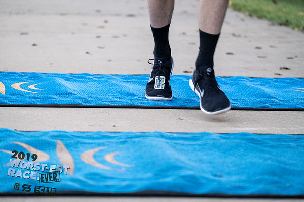 Can't find your finish line photo?  That's ok, we've got shoes.  Find your shoes from the Worst-est Race Ever, with the worst-est finish line photos, courtesy of the worst-est race photographer.  You're welcome.