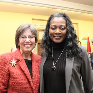 Margaret Behm, DarKenya Waller