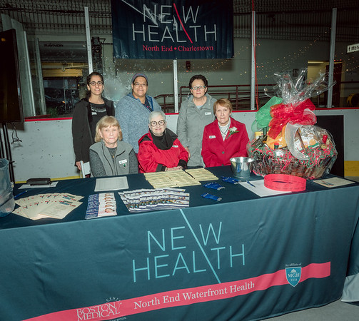 NEW Health booth at 2019 Taste of the North End
