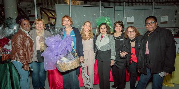NEW Health and TONE organizers work the raffle basket raffle