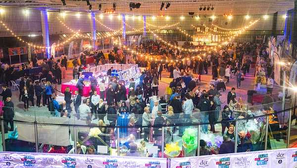 Steriti Skating Rink filled for 2019 Taste of the North End