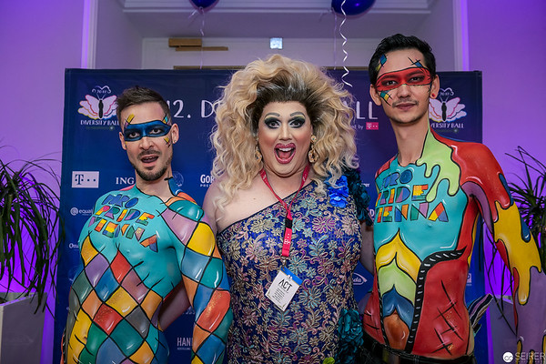 LayDee KinMee beim Diversity Ball 2019