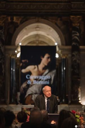 """Eröffnung der Ausstellung """"Caravaggio & Bernini"""" im Kunsthistorischen Museum Wien, 14. Oktober 2019"""