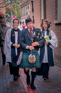 Remembrance Day ceremony at Old North Church