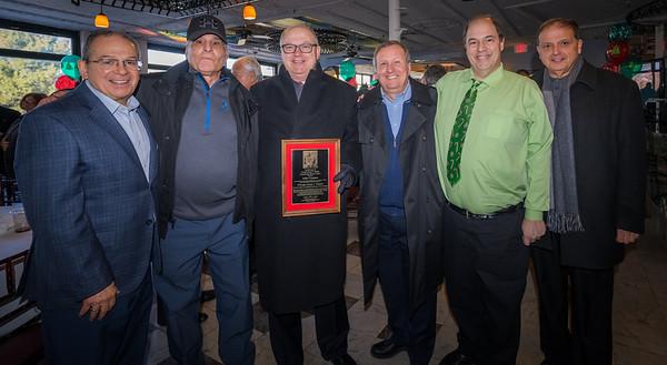 Community Service Honoree John Fiumara with fellow Knights members