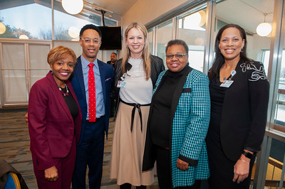 Atrium Health MLK Growing The Dream Award Ceremony @ Biddle Hall JCSU 1-19-19 by Jon Strayhorn
