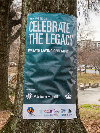 2019 Atrium Health Martin Luther King Jr. Memorial Service @ Marshall Park 1-15-19 by Ed Chavis